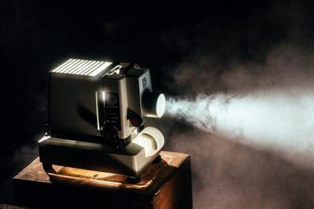 Movie projector. Image by Jeremy Yap via Unsplash.