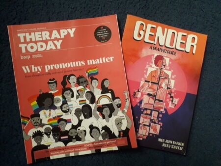 Therapy Today covers on Gender and Pronouns